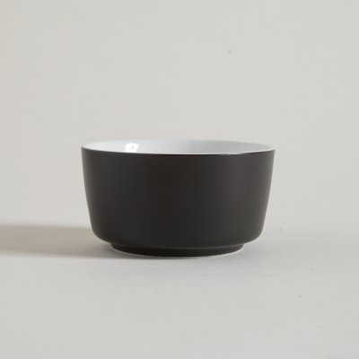 BOWL DE CERAMICA BLACK  WHITE 11,5 X 6 CM