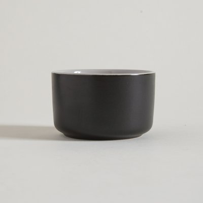 BOWL  DE CERAMICA BLACK  WHITE 9,5 C 6 CM