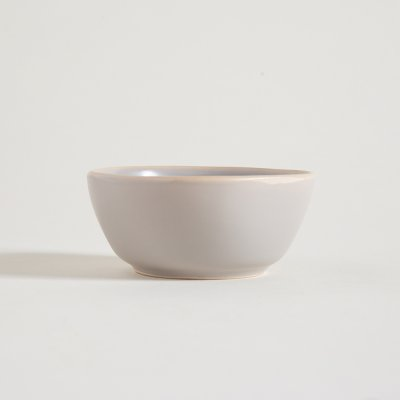 BOWL DE CERAMICA GRIS BORDE NATURAL MONASTIR 11CM 200ML
