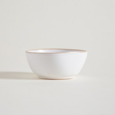 BOWL DE CERAMICA BLANCA BORDE NATURAL SUSA 11CM 200ML