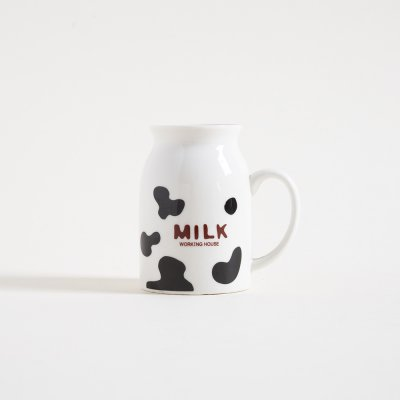MUG MILK WORKING 7x10H CM   250 ML