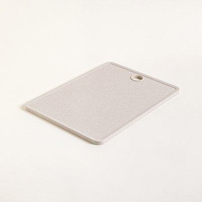 TABLA PARA PICAR FIBRA DE TRIGO BEIGE RECTANGULAR 37.5x27.5CM