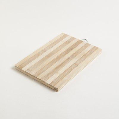 TABLA DE BAMBOO RECTANGULAR RAYADA 20x30CM