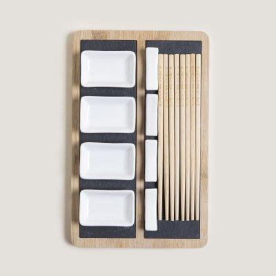 SET DE SUSHI X4 BAMBOO 31.5x20x3.5CM