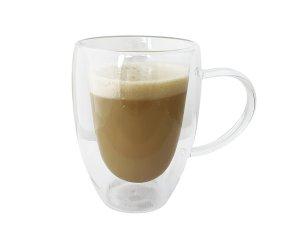 MUG DE CAFÉ DOBLE VIDRIO 250 ML