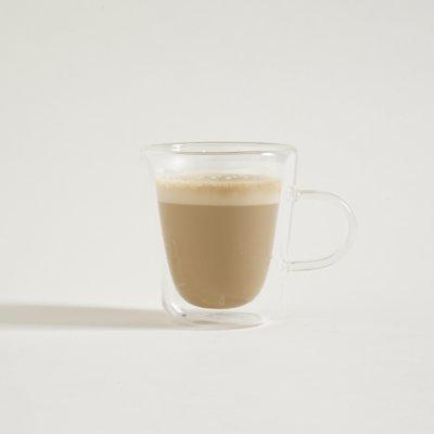 MUG DE CAFÉ RECTO DOBLE VIDRIO 150 ML