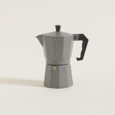 CAFETERA TIPO ITALIANA GRIS 300 ML