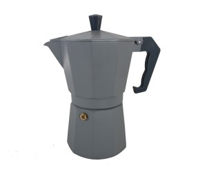 CAFETERA TIPO ITALIANA GRIS 300 ML
