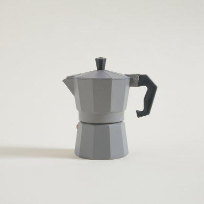 CAFETERA TIPO ITALIANA GRIS 150 ML