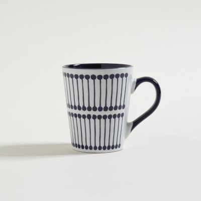 JARRO MUG  ROWING AZUL Y BLANCO 360 ML
