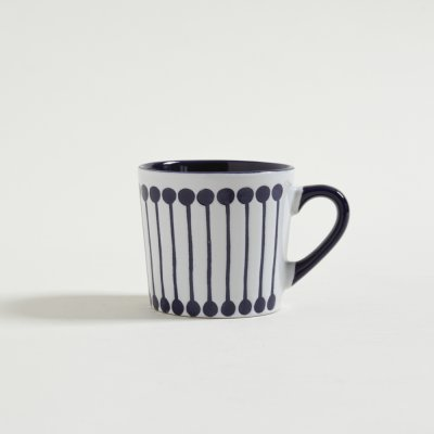 JARRITO MUG  ROWING  AZUL Y BLANCO 220 ML